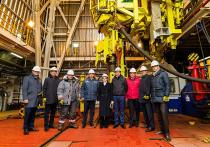 Платформу «Nanhai VIII» готовят к работе на шельфе Карского моря