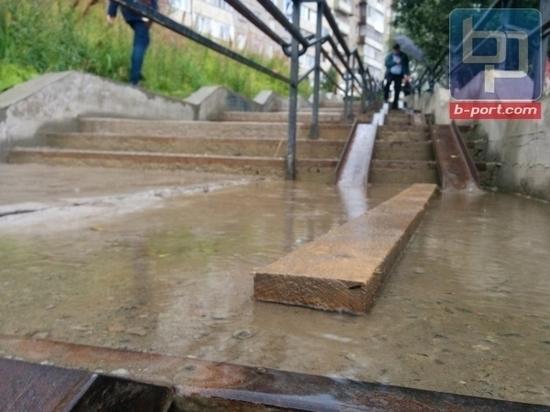 Лестница на Северном проезде вновь будет отремонтирована