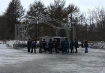 Полицейские устроили свистопляску в центре Мурманска
